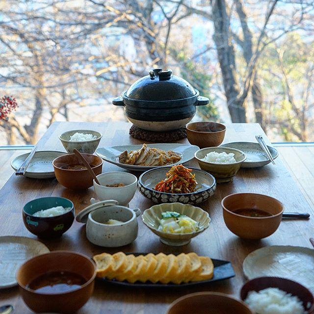 朝はやっぱり白いご飯!和の朝食3