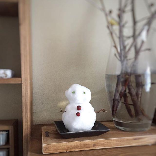 雪だるまモチーフ4