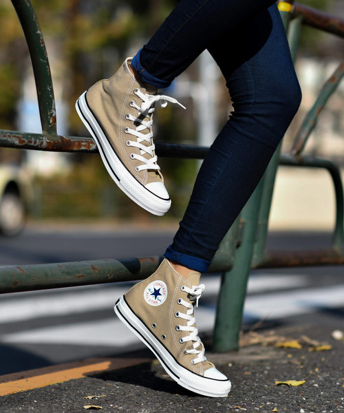 [CHAPTER WORLD] CONVERSE ALL STAR COLORS HI (ベージュ)2