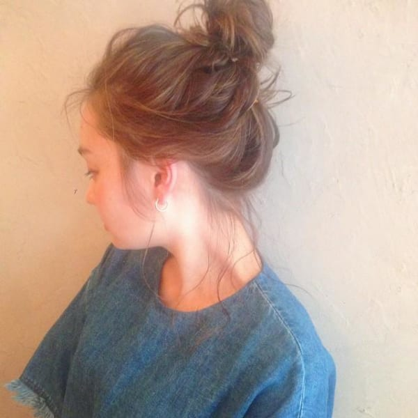 簡単まとめ髪11