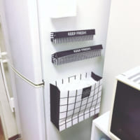 【セリア・ダイソーetc.】活用アイデア8選☆冷蔵庫の側面を収納スペースにチェンジ!