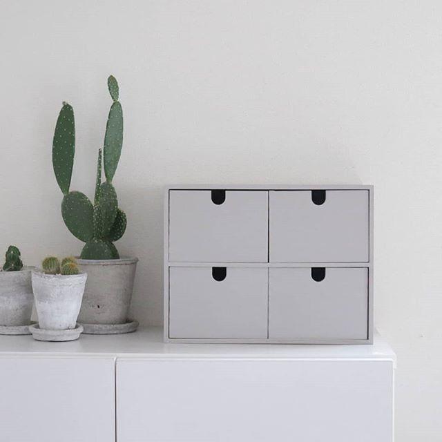 IKEAの木製ミニチェスト