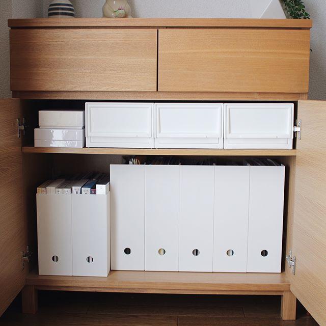 ニトリの真っ白な収納アイテム
