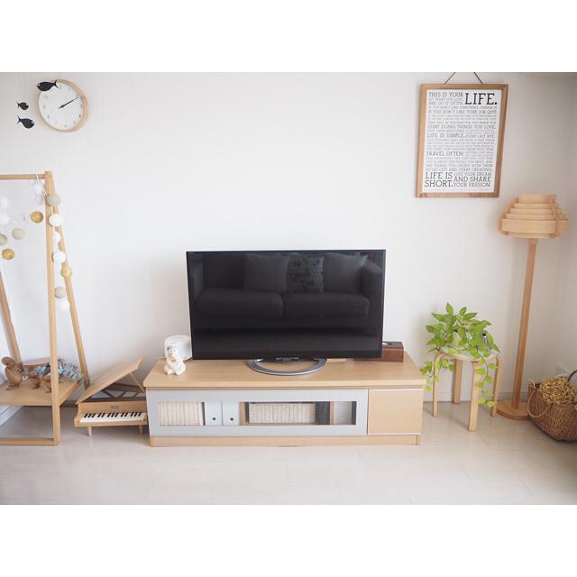 テレビボード ナチュラルインテリアの設置実例20