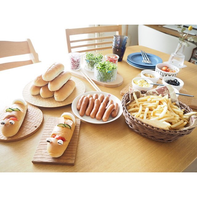 「ホームパーティー」のテーブルシーン&料理特集9