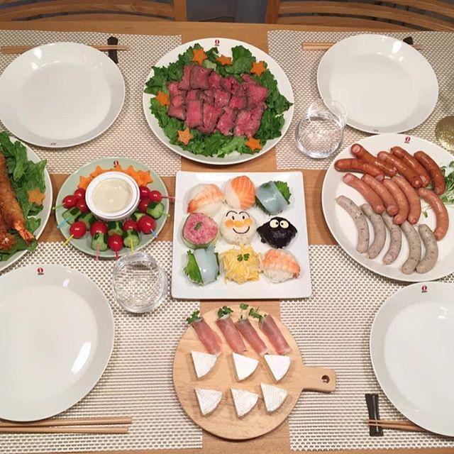 「ホームパーティー」のテーブルシーン&料理特集11