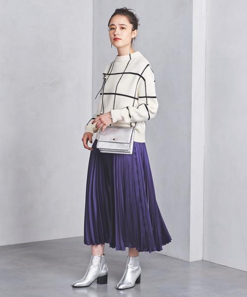 パープル系スカート12
