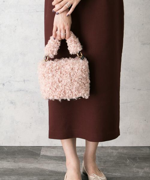 [URBAN RESEARCH ROSSO WOMEN] エコファーミニショルダーバッグ