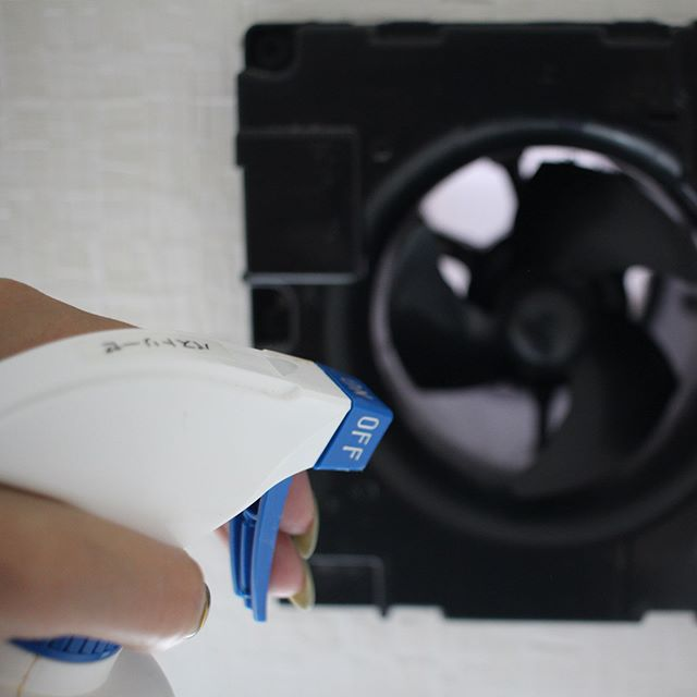 トイレの換気扇掃除5