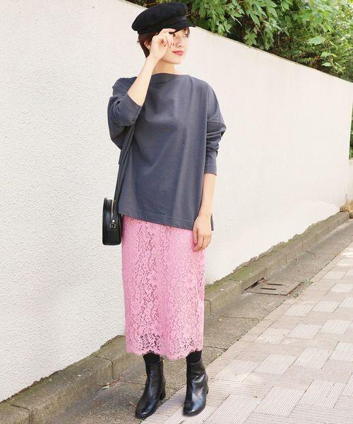 ピンク系スカート7
