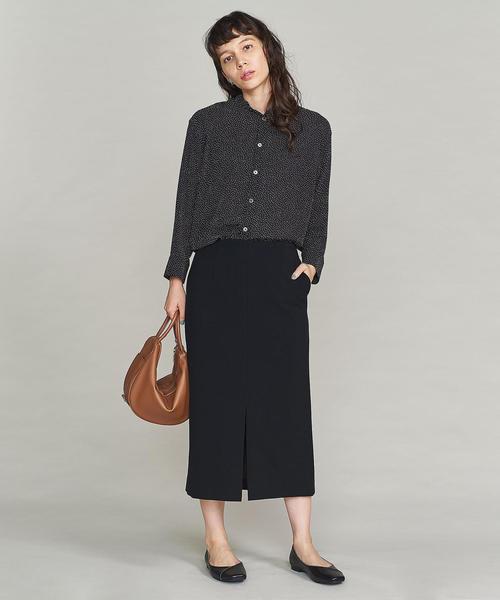 ダブルクロスタイトスカート