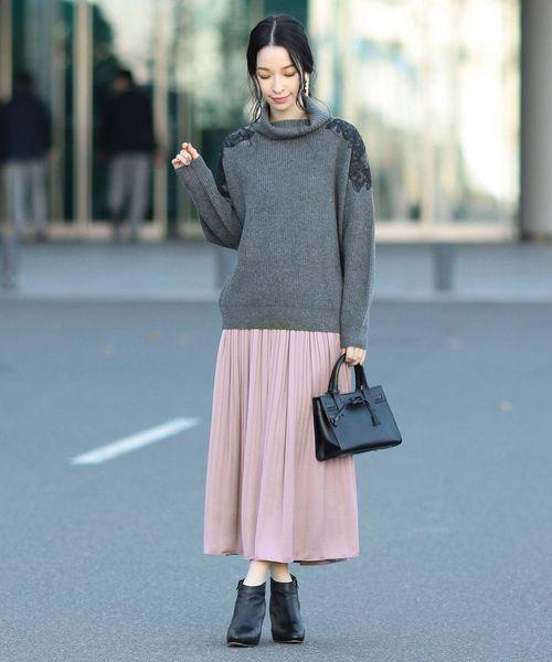 ピンク系スカート14