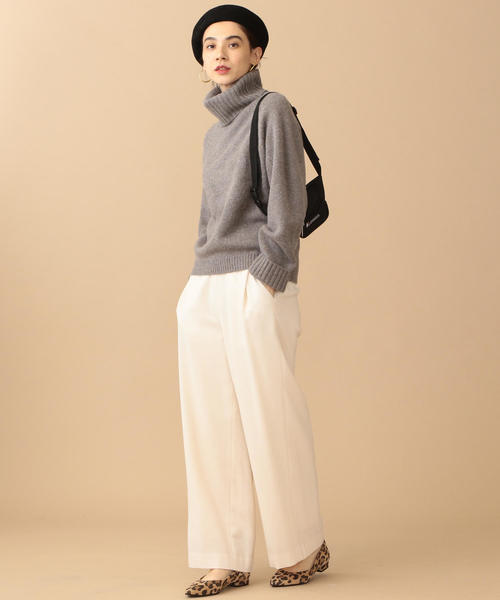 [BEAUTY&YOUTH UNITED ARROWS] BY∴ 5Gソフトロービングタートルネックニット