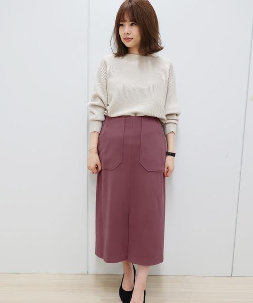 ピンク系スカート2