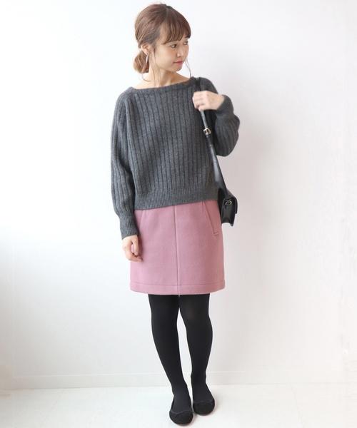 ピンク系スカート8