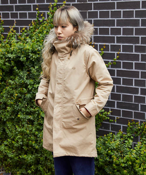 [FRED PERRY] M51 Fishtail Parka