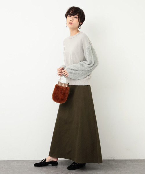 [koe] チノマキシスカート