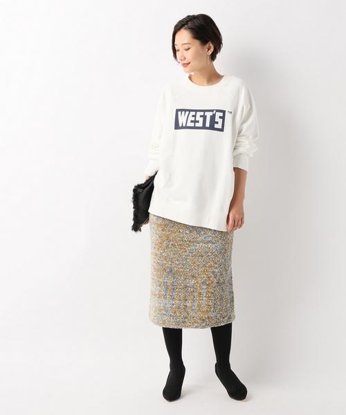 [Spick & Span] ツイード スカート
