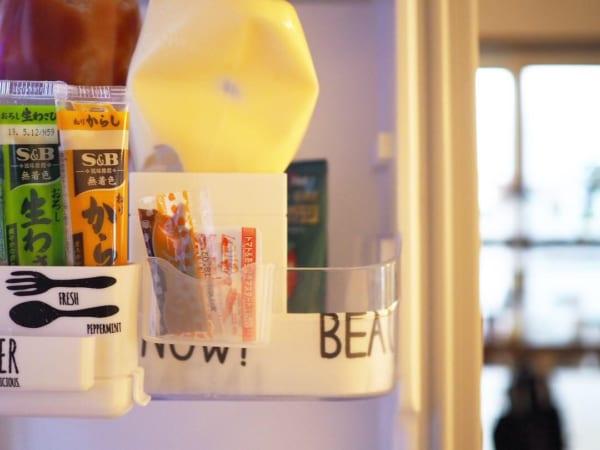 冷蔵庫ミニポケットで、薬味類のごちゃつきにサヨナラ!2