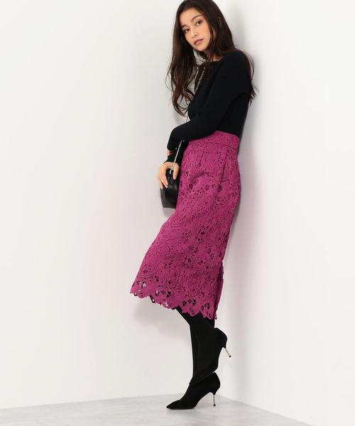 ピンク系スカート6