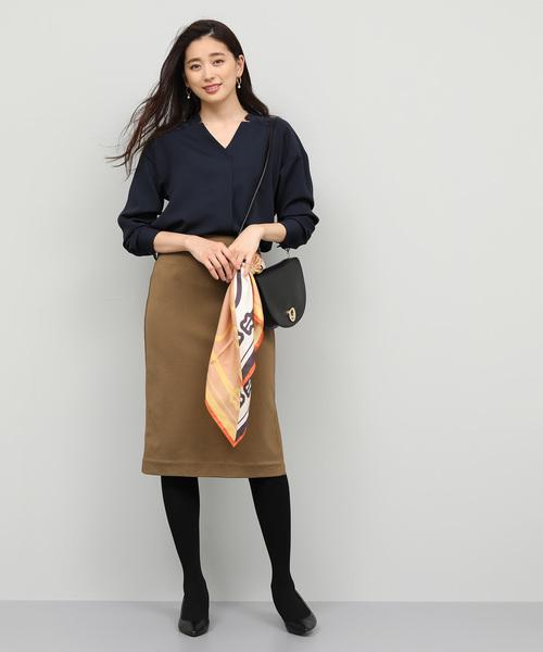 [ROPE'] 【セットアップ対応】ポンチジップスカート