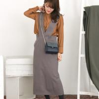 冬もジャンパースカートがかわいい♡大人っぽく見せるコツを知っておこう!
