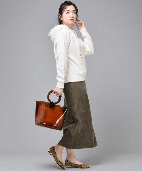 キレイメコーデュロイロングスカート