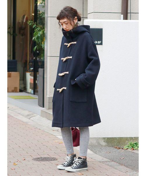 [Ungrid] ミドル丈ダッフルコート