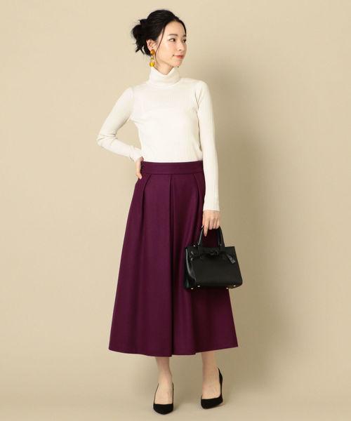 パープル系スカート10