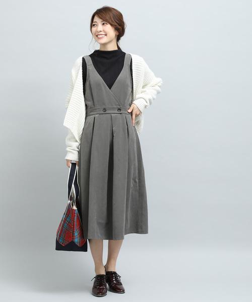 [ViS] カシュクールジャンパースカート