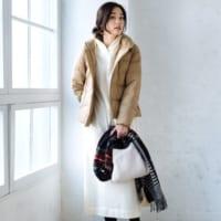 キャメル色コートのコーデ50選♡チェスター・ダウンetc.種類別にご紹介!