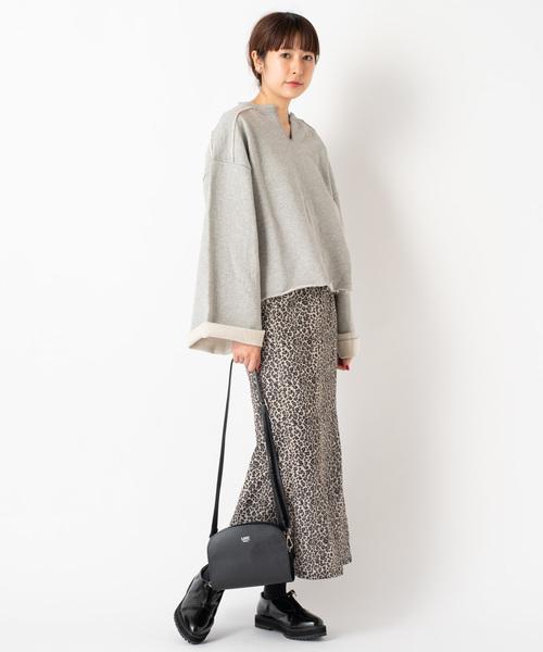 レオパードマーメイドスカート