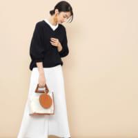 定番から差し色まで!たくさん使える「無地のロングスカート」コーデ特集