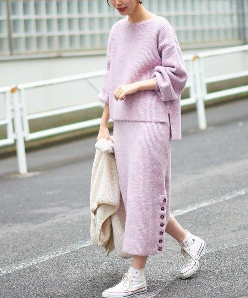ピンク系スカート3