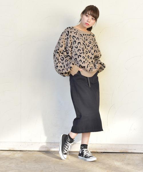 [rps] ベイカーロングタイトスカート