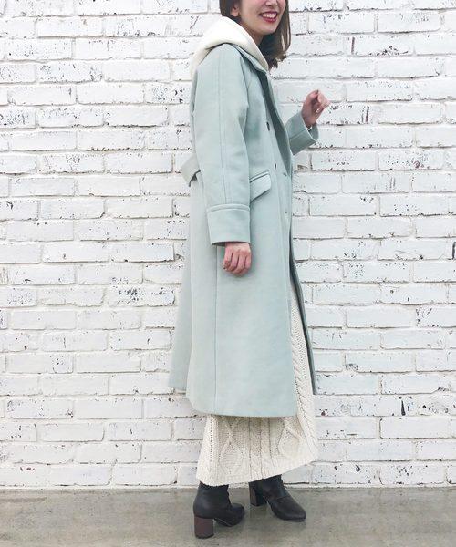 ビッグカラーおしゃれコート
