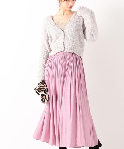 ピンク系スカート13