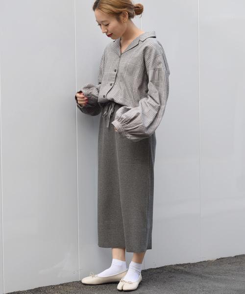 ベアテレコタイトスカート