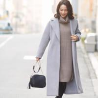 重くなりがちな冬コーデ・・・《淡色ファッション》でパッと明るく華やかに♡