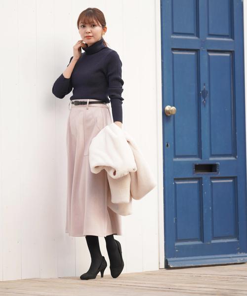 ピンク系スカート11