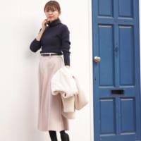 大人フェミニンを演出♪甘くなりすぎない「ピンク系スカート」コーデ15選