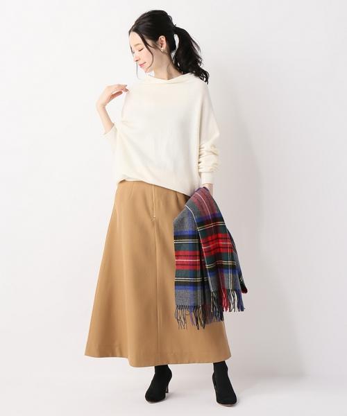 [IENA] ウールチノジップスカート◆