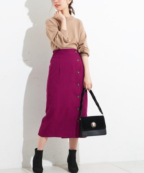 ピンク系スカート4