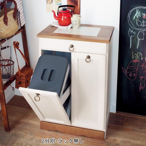 ゴミ箱&ゴミを収納できるラック&ボックスの実例6