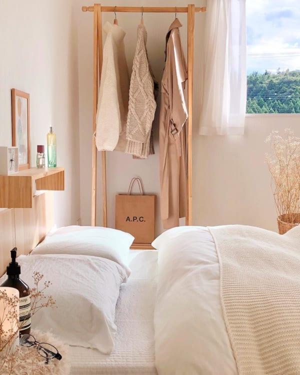 安眠に効果的な寝室インテリアの法則46