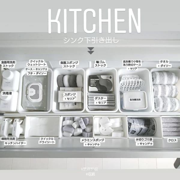 キッチンの消耗品などの収納7