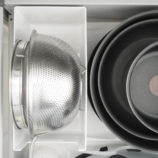 鍋やフライパンなどの収納5