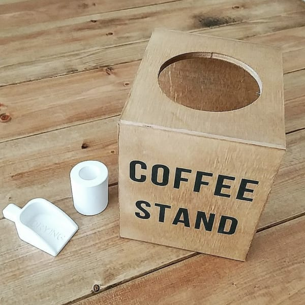 男前デザインが素敵♪コーヒードリップスタンド2