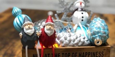 ディスプレイは100均(セリアetc.)でDIY☆クリスマスをおしゃれに飾ろう!