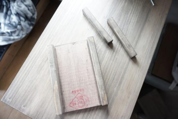 カフェトレーDIY 作り方3